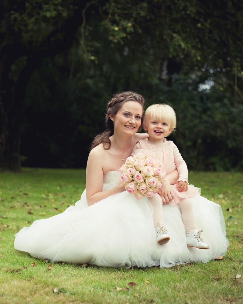 Fotografering af bryllupsportrætter
